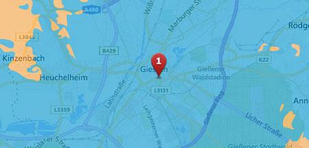o2 LTE in Gießen