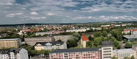 Panorama von Chemnitz (Bild: Flickr.com / gravitat-OFF, [url=https://creativecommons.org/licenses/by/2.0/deed.de]CC BY 2.0[/url])