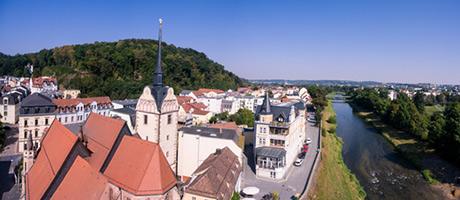 Untermhaus: Stadtteil von Gera (Foto: #120736956 © artefacti - Fotolia.com)