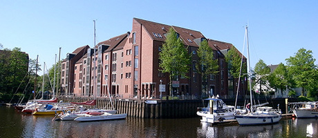 Hafen in Oldenburg (Bild: Flickr.com / mibuchat, [url=https://creativecommons.org/licenses/by-sa/2.0/]CC BY-SA 2.0[/url])