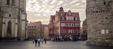 Halle an der Saale (Bild: Flickr.com / Øystein Vidnes, [url=https://creativecommons.org/licenses/by/2.0/deed.de]CC BY 2.0[/url])