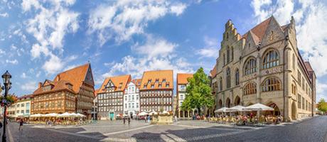 Hildesheim Altstadt (Foto: #95175866  © pure-life-pictures - Fotolia.com)