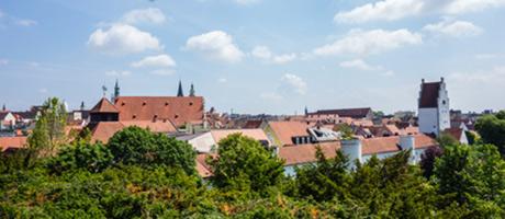 Blick über Ingolstadt (Foto: #111702277 © oxie99 Fotolia.com)
