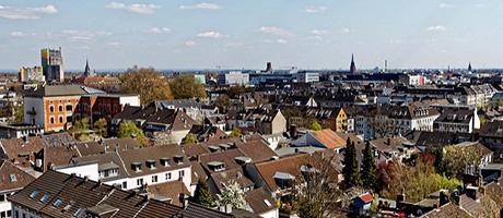 Gipfelstürmertag - Krefeld von Oben - Liebfrauenkirche (Bild: Flickr.com / Philipp Beckers, [url=https://creativecommons.org/licenses/by/2.0/deed.de]CC BY 2.0[/url])