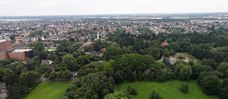 Lehrte Luftbild (© DSLregional.de/city_copter)