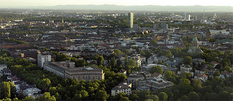 Luftaufnahme von Mannheim (Bild: Bernhard Kunz / Stadtmarketing Mannheim GmbH, [url=https://creativecommons.org/licenses/by/2.0/deed.de]CC BY 2.0[/url])