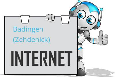 Badingen (Zehdenick) DSL