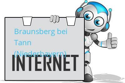 Braunsberg bei Tann (Niederbayern) DSL