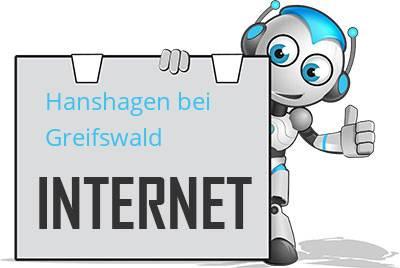 Hanshagen bei Greifswald DSL