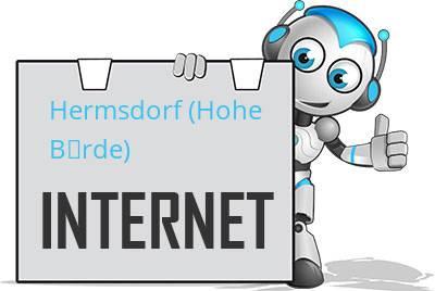 Hermsdorf (Hohe Börde) DSL