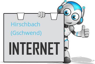 Hirschbach (Gschwend) DSL