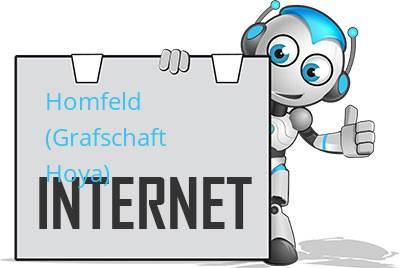 Homfeld, Kreis Grafschaft Hoya DSL