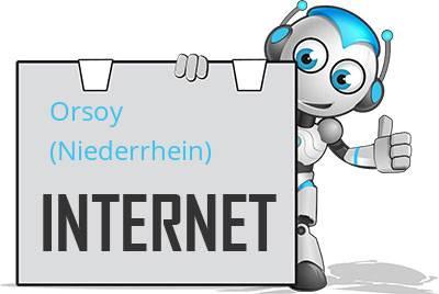 Orsoy, Niederrhein DSL