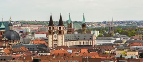 Würzburg Panorama (Foto: #109330618 © arborpulchra - Fotolia.com)
