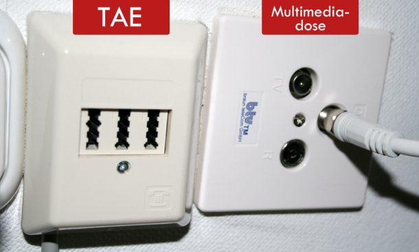 TAE und Multimediadose