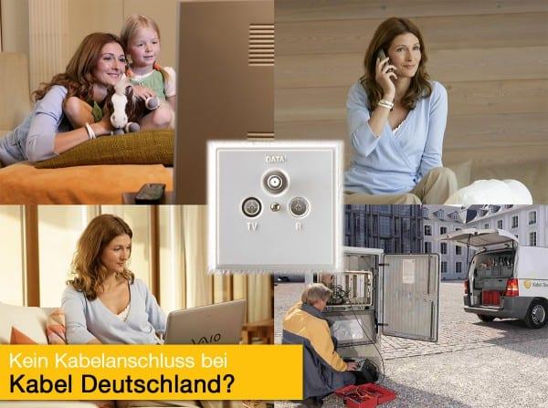 kein Kabel Deutschland Kabelanschluss