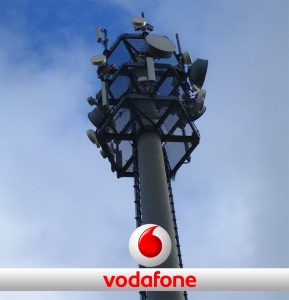 Vodafone LTE-Mast