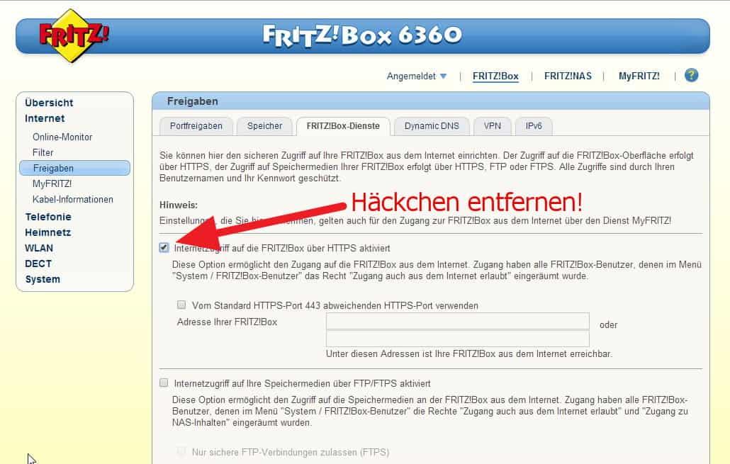 Ap Isolierung Deaktivieren Fritzbox