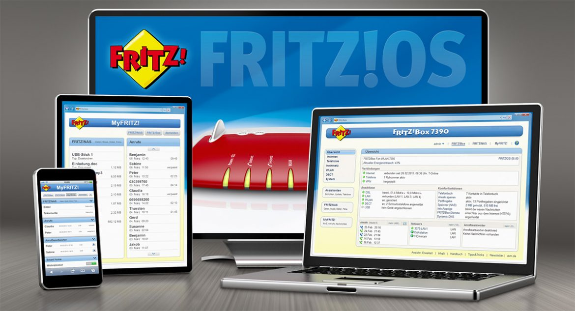 Fritz!OS-Update: Fritzbox Router erhalten Patch