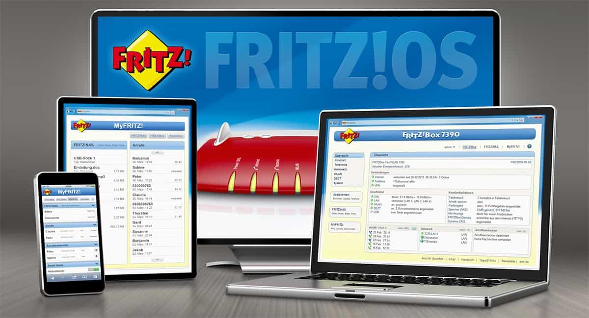 Fritz!OS-Update: Fritzbox Router erhalten Patch