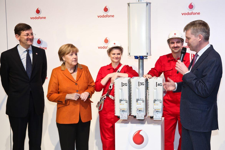 Vodafone Netzoffensive: Bundeskanzlerin