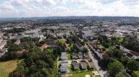 Bielefeld Stadtzentrum Luftaufnahme
