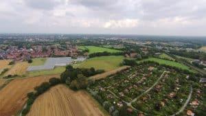 Münster Land - Luftbild