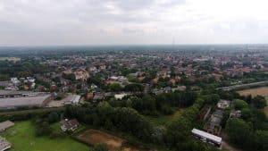 Münster Luftaufnahme