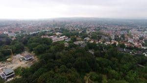 Osnabrueck City Luftbild