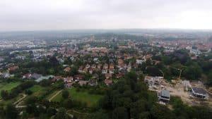 Osnabrück - Luftbild der Innenstadt