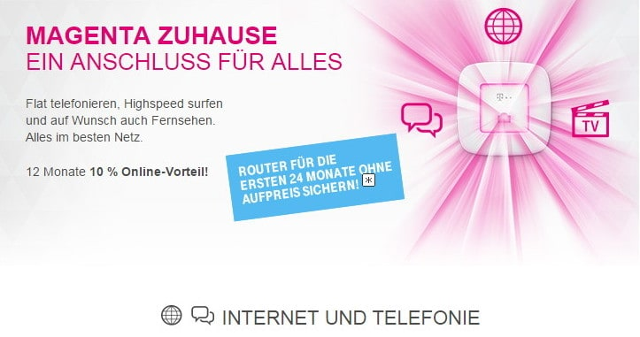magenta zuhause einfachere tarifstruktur f r dsl und ftth bei der telekom. Black Bedroom Furniture Sets. Home Design Ideas