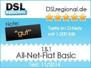 1und1 All-Net-Flat Basic Tarifcheck November 2014