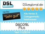 Discotel Plus Tarifcheck November 2014