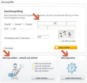 Telefonnummer Kabel Deutschland Störung