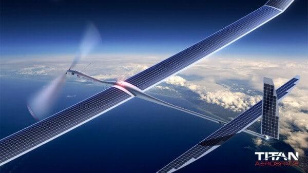 Solar-Drohne
