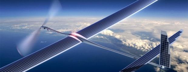 Google-Drohne für Internetzugänge bei Testflug abgestürzt