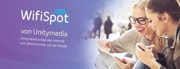 Gratis-Wifi: WLAN-Hotspots in 100 deutschen Städten bei Unitymedia