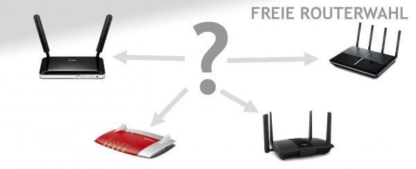 freie Routerwahl