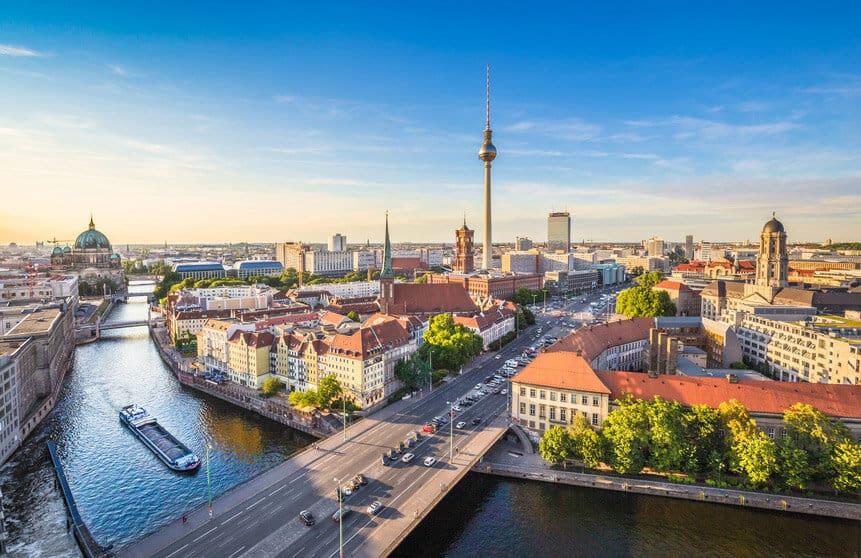 Berlin Skyline - Hotspots Innenstadt