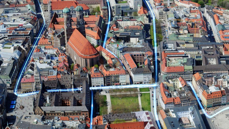 Glasfaserausbau: München Innenstadt