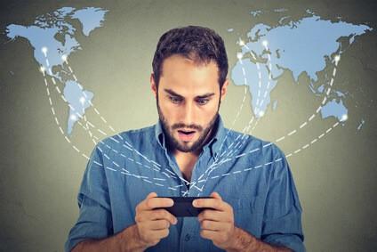 Roaming: weltweit im Internet