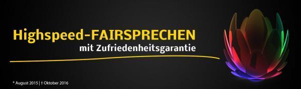 Unitymedia Zufriedenheitsgarantie: Abschaffung vom Highspeed-Fairsprechen