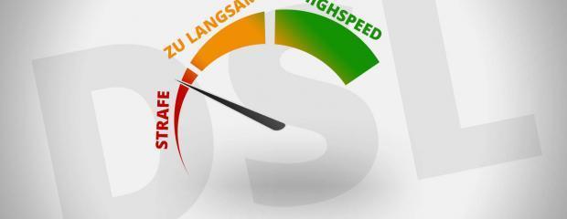 DSL zu langsam: Providern drohen Bußgelder