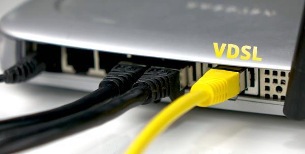 VDSL-Router Anschluss