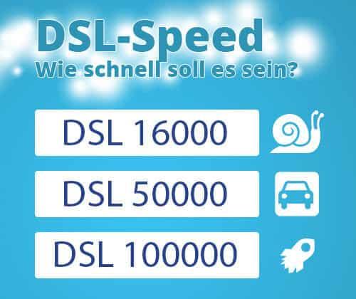 DSL Anbieter Speed