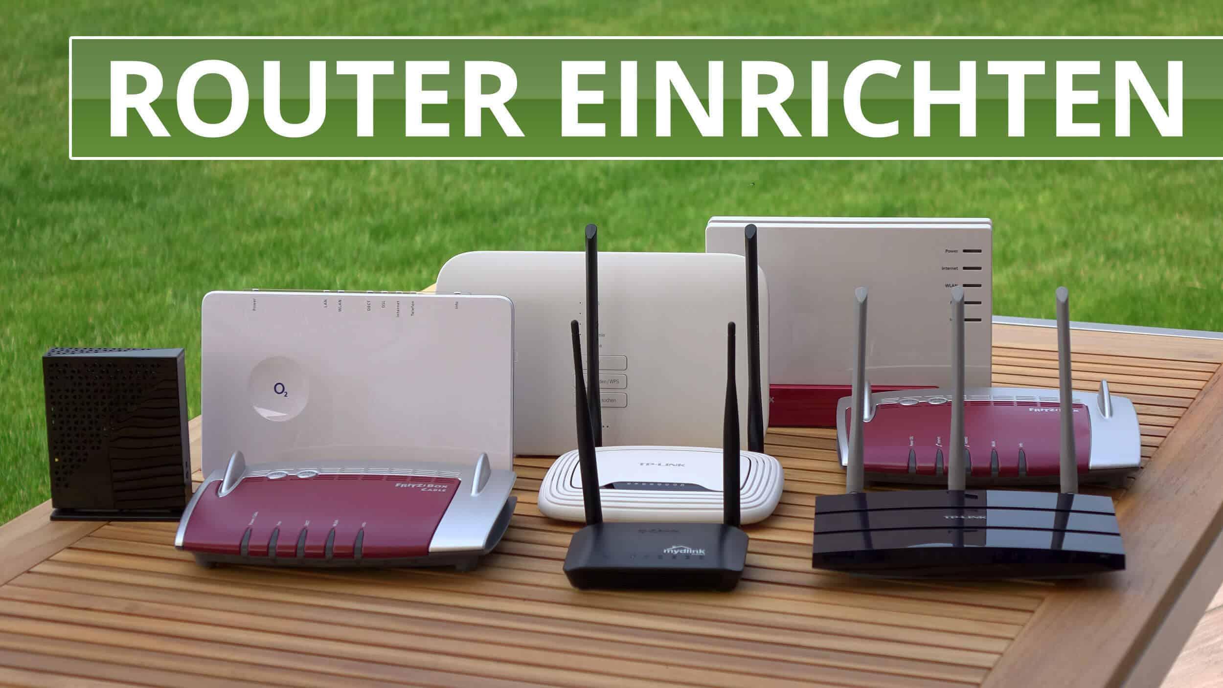 Router Einrichten So Gehts Bei Speedport Fritzbox Und Co