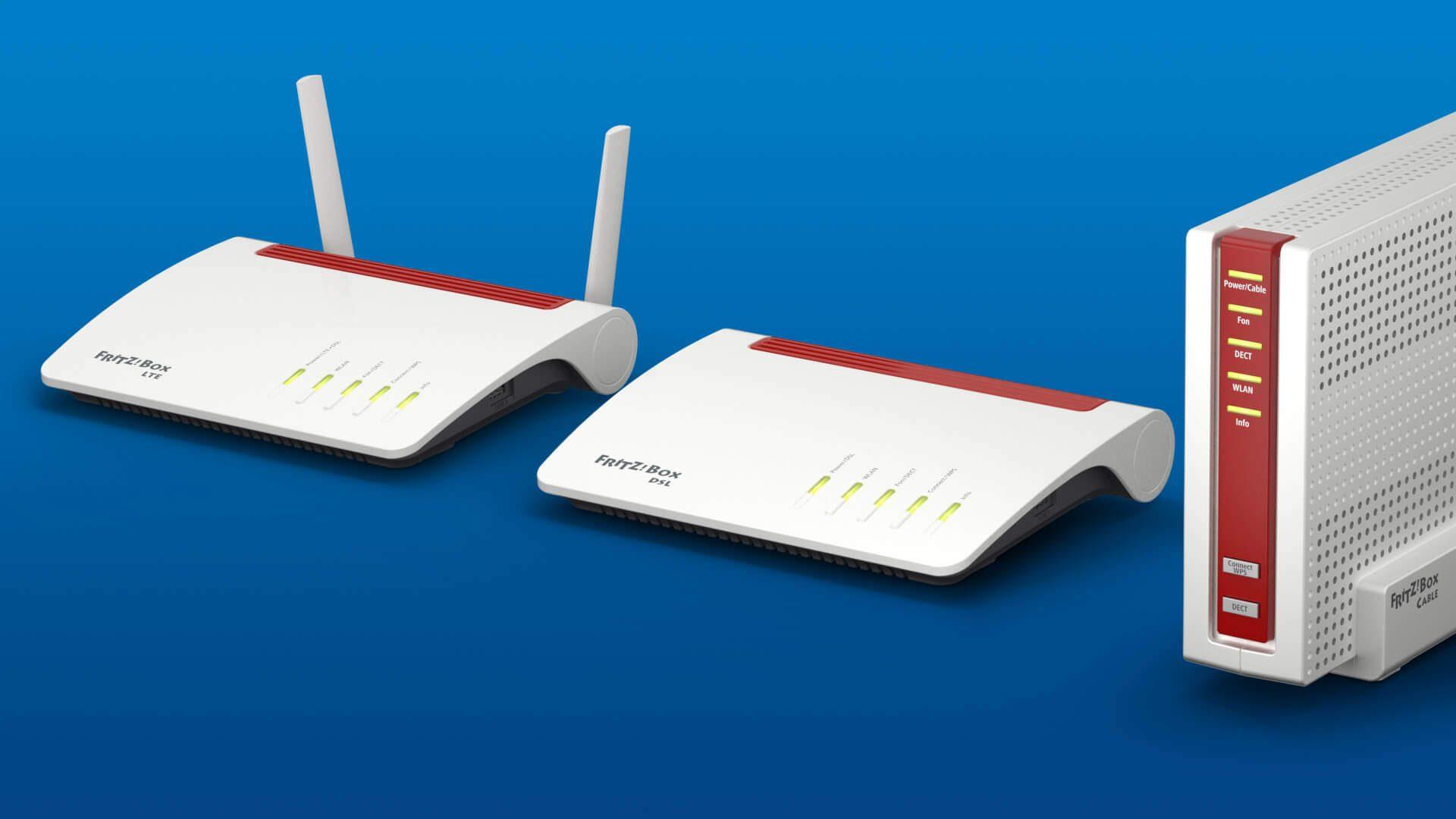 FRITZ!Box 7590, 6590 und 6890 LTE