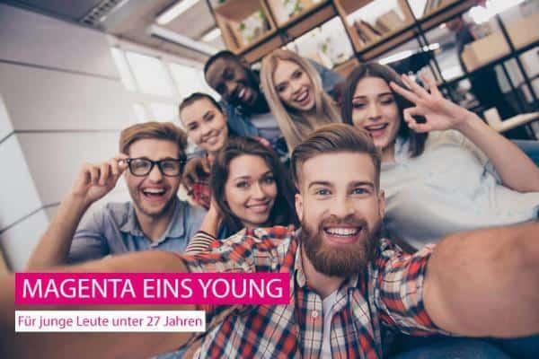 MAGENTA Eins Young - für alle unter 27 Jahren