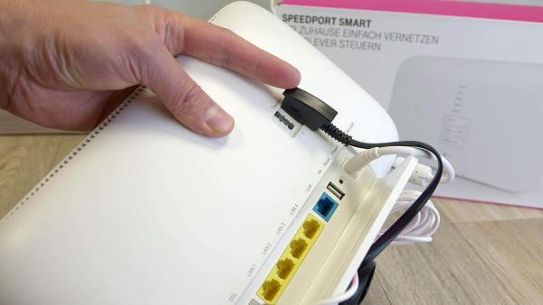 Festnetztelefon am Speedport Smart