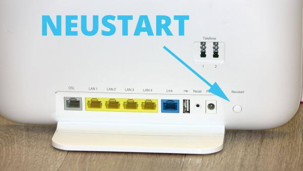 Neustart des Speedport Smart